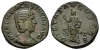 Otacilia Severa, wife of Philip I Sestertius 244-249 (Starting Bid £ 60*)
