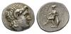 Kingdom of Thrace, Lysimachus 323-281 and posthumous issues Tetradrachm, Kios circa 288-281.