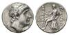 Seleucid Kings of Syria, Antiochos I Soter 281-261 BC Tetradrachm Seleucia on the Tigris circa 265-264.