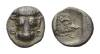 Phokis, Federal Coinage Obol, 478-460 BC.