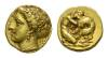 Sicily, Syracuse Double-decadrachm circa 400.