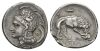 Lucania, Velia Nomos circa 305-290 - From a collection formed in the '30. (Starting Bid £ 150 )