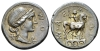 Man. Aemilius Lepidus Denarius 114 or 113 (Starting Bid £ 45 *)