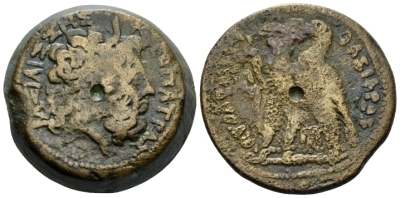 The Ptolemies, Ptolemy VI Philometor, 180-145. Cyprus Bronze circa 180-170 (Starting Bid £ 35 )