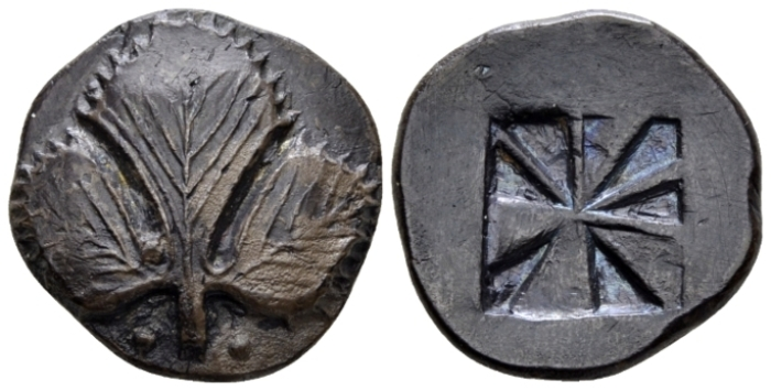 Sicily, Selinus Didrachm circa 530-500 - Ex NAC sale 82, 2015, 49. Privately purchased in 1991. From the M.L. Collection. (Starting Bid £ 600 *)