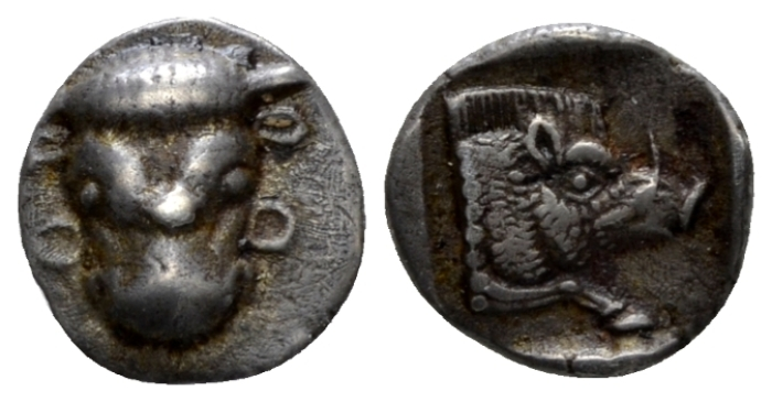 Phocis, Federal Coinage Obol circa 478 - 460 BC - Ex SBV sale 3, September 1991, 126. From the Duplicates of the BCD Collection. (Starting Bid £ 50 )
