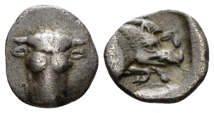 Phocis, Federal coinage Obol circa 457 - 446 BC - From the duplicates of the BCD collection. (Starting Bid £ 40 )