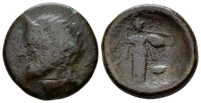 Phocis, Elateia Bronze II cent BC - From the duplicates of the BCD colelction. (Starting Bid £ 35 )