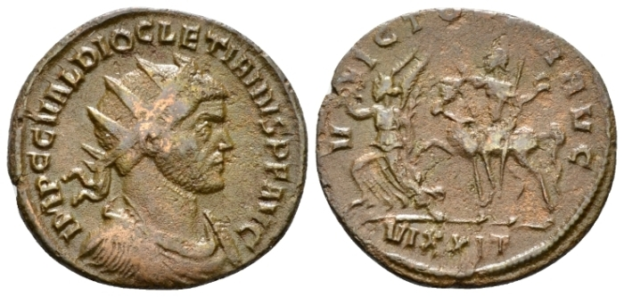 Diocletian, 284-305 Antoninianus Ticinum circa 285 - From the M.J. Collection. (Starting Bid £ 25)