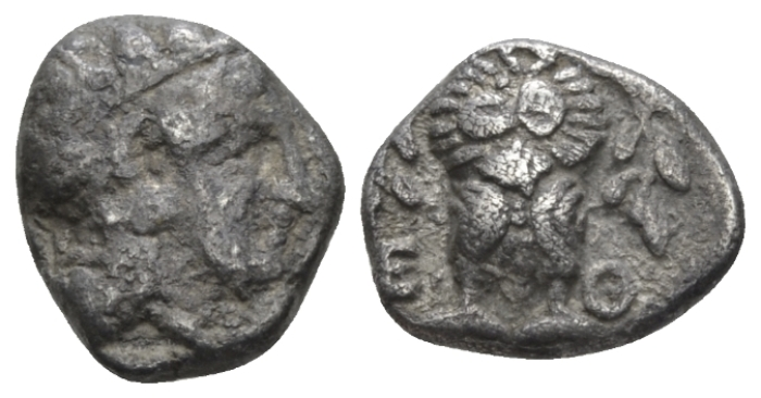 Attica, Athens Hemidrachm after 499 - From the E.E. Clain-Stefanelli collection. (Starting Bid £ 25 *)