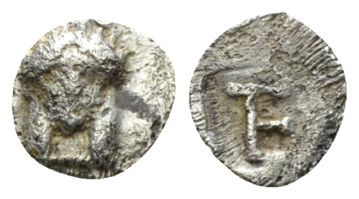Ionia, Colophon Tetartemorion circa 450-410 - From the E.E. Clain-Stefanelli collection. (Starting Bid £ 25 *)