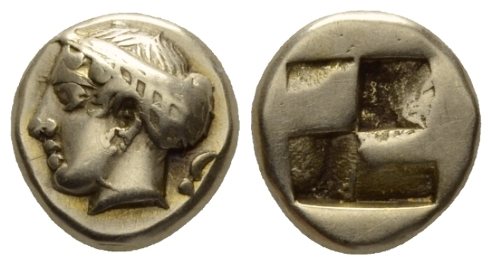 Ionia, Phocaea Hecte circa 477-388 - Ex NAC sale 84, 2015, 661. From an Australian private collection. (Starting Bid £ 300 *)