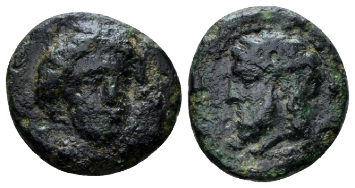 Sicily, Gela Bronze IV cent. - From the E.E. Clain-Stefanelli collection. (Starting Bid £ 25 *)