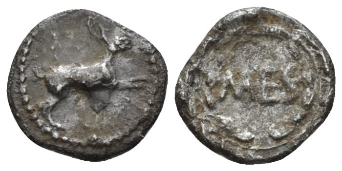 Sicily, Messana Litra circa 455-451 - From the E.E. Clain-Stefanelli collection. Illustrated in RBN. (Starting Bid £ 35 *)