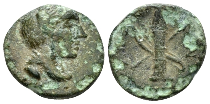 Sicily, Syracuse Bronze after 212 - From the E.E. Clain-Stefanelli collection. (Starting Bid £ 30 *)
