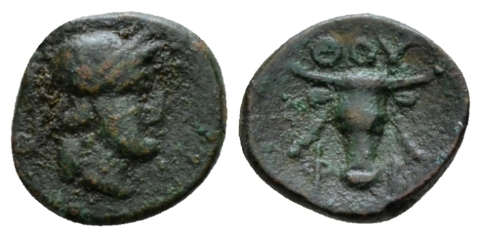Lucania, Thurium Bronze after 300 - From the E.E. Clain-Stefanelli collection. (Starting Bid £ 25 *)