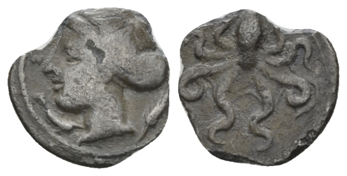 Sicily, Syracuse Litra Phrygillos (?), circa 415-405 - From the E.E. Clain-Stefanelli collection. (Starting Bid £ 25 *)