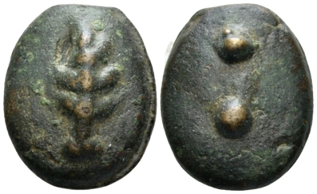 Umbria, Uncertain mint Sextans III cent. - From a European Collection. (Starting Bid £ 70 *)