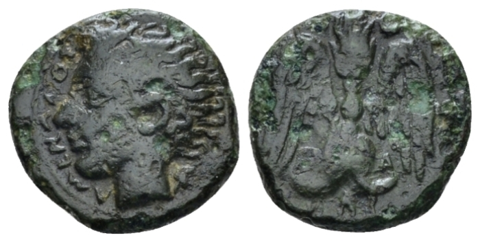 Sicily, Catana Tetras circa 415-402 - From the Lord Grantley collections. Sold with the original ticket. (Starting Bid £ 30 *)