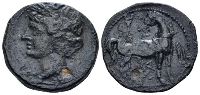 The Carthaginians in Sicily and North Africa, Carthago Unit circa 215-201 (Starting Bid £ 45 )