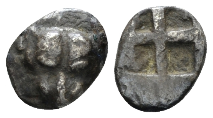 Pontus, Panticapaeum Obol circa 480-470 - From the E.E. Clain Stefanelli collection (Starting Bid £ 25 *)