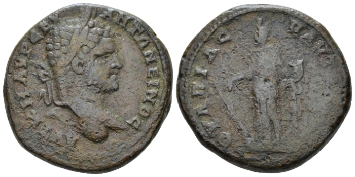 Thrace, Pautalia Caracalla, 198-217 Bronze circa 198-217 (Starting Bid £ 25 *)
