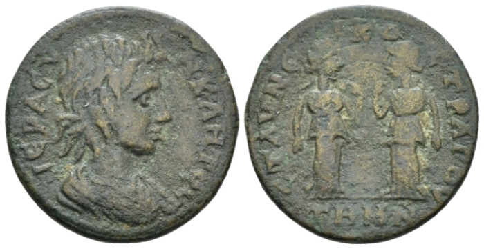 Aeolis, Temnus Pseudo-autonomous issues. Time of Severus Alexander to Philip I Bronze Middle of III cent. - Ex NAC sale 100, 2017, 1224. (Starting Bid £ 35 *)