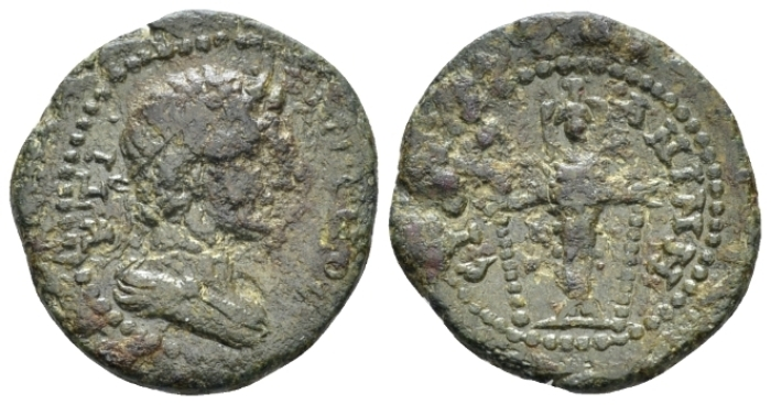 Lydia, Anineta Pseudo-autonomous issues Bronze circa 138-192 - Ex NAC sale 100, 2017, 1261. (Starting Bid £ 40 *)