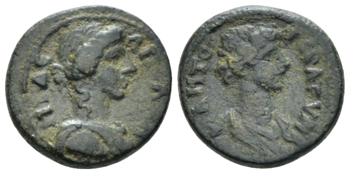 Lydia, Apollonis Pseudo-autonomous issues. Bronze II cent. (Starting Bid £ 25 *)