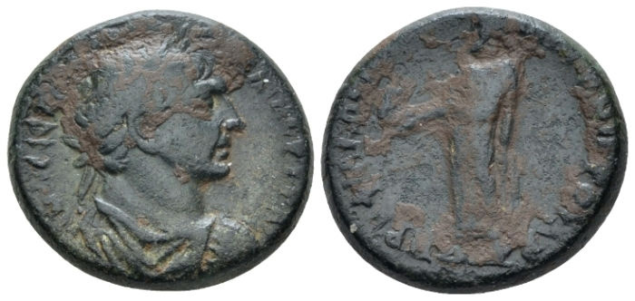 Lydia, Philadelphia Trajan, 98-117 Bronze circa 98-117 (Starting Bid £ 30 *)