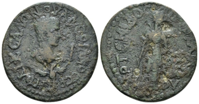 Pamphilia, Perge Saloninus, 259 Bronze circa 259 (Starting Bid £ 25 *)