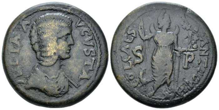 Pisidia, Antioch Julia Domna, wife of Septimius Severus Bronze circa 193-211 (Starting Bid £ 25 *)