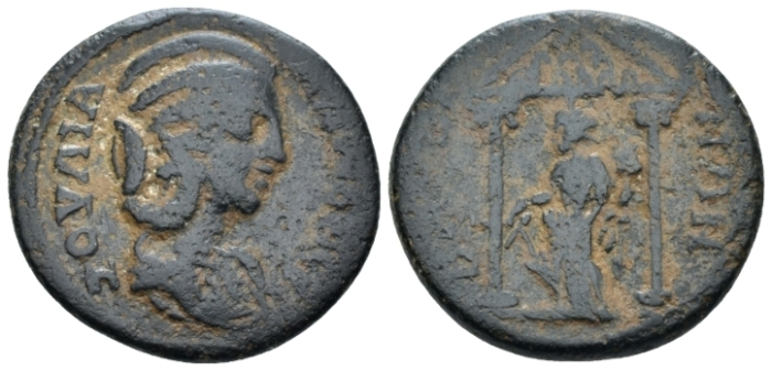 Pisidia, Baris Julia Mamaea, mother of Severus Alexander Bronze Circa 222-235 - Ex NAC sale 100, 2017, 1312 (Starting Bid £ 40 *)