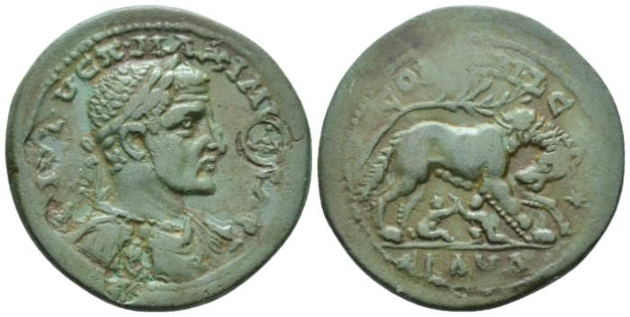 Cilicia, Ninica Claudiopolis Maximinus I, 235-238 Bronze circa 235-238 - Variant not in RPC. (Starting Bid £ 35 *)