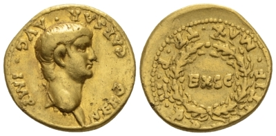 Nero, 54-68 Aureus circa 56-58 (Starting Bid £ 1300)