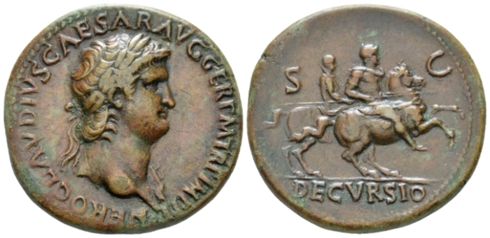 Nero, 54-68 Sestertius circa 64 (Starting Bid £ 350*)