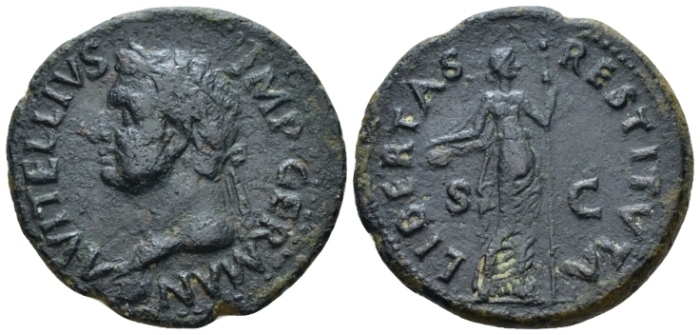 Vitellius, April – December 69 As Tarraco (?) January-June 69 - Ex NAC sale 54, 2010, 1060 (Starting Bid £ 50)