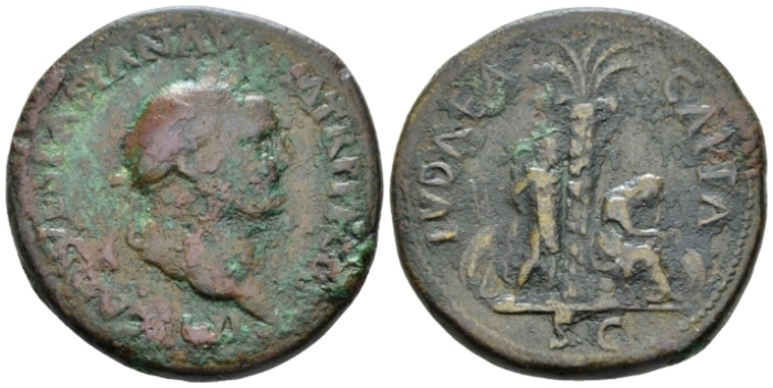 Vespasian, 69-79 Sestertius circa 71 (Starting Bid £ 180*)