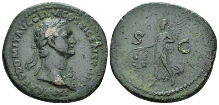 Domitian, 81-96 As circa 85 (Starting Bid £ 35*)