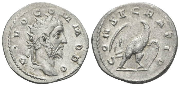 Divus Commodus. Died 192. Antoninianus circa 250-251 - Ex CNG e-sale 213, 2009, 442. (Starting Bid £ 50*)