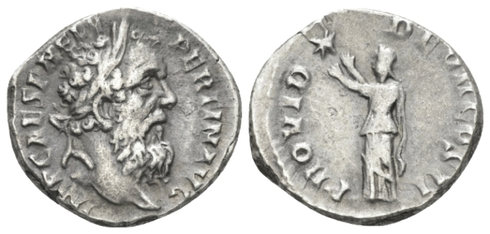 Pertinax, 193 Denarius 193 (Starting Bid £ 200*)