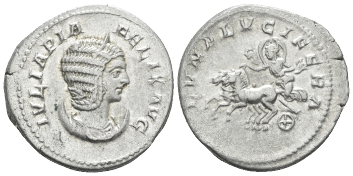 Julia Domna, wife of Septimius Severus Antoninianus circa 211-217 (Starting Bid £ 35*)