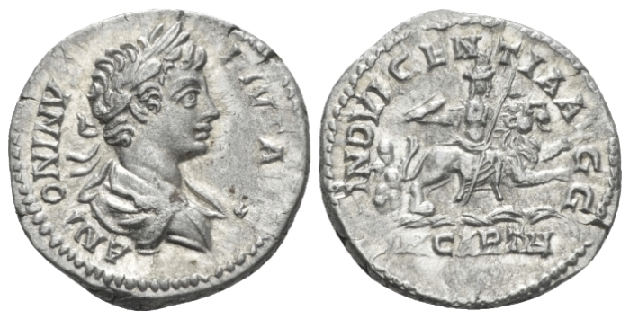 Caracalla, 198-217 Denarius circa 201-206 (Starting Bid £ 35)
