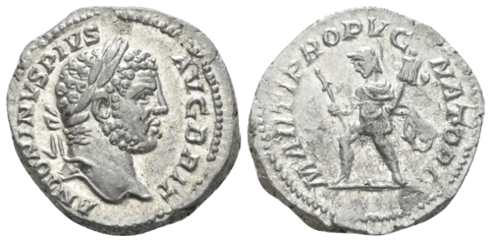 Caracalla, 198-217 Denarius circa 210-213 (Starting Bid £ 40)