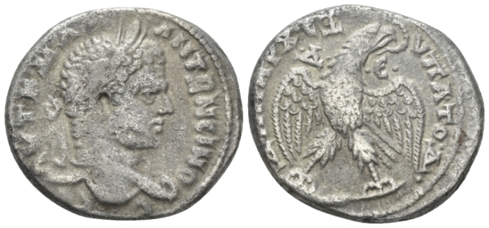 Caracalla, 198-217 Tetradrachm Antioch circa 215-217 (Starting Bid £ 30)