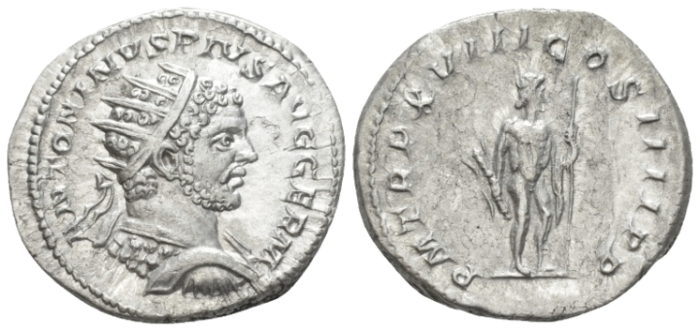 Caracalla, 198-217 Antoninianus circa 216 (Starting Bid £ 40)