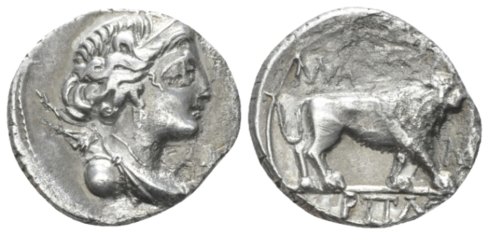 Gallia, Massalia Drachm circa 150-130 - Ex Roma Numismatics e-sale 62, 2019, 63. (Starting Bid £ 30 )