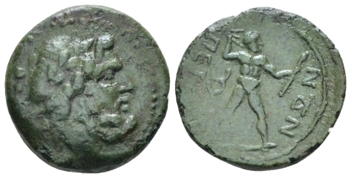 Bruttium, Petelia Quadrantes circa 216-211 (Starting Bid £ 35 )