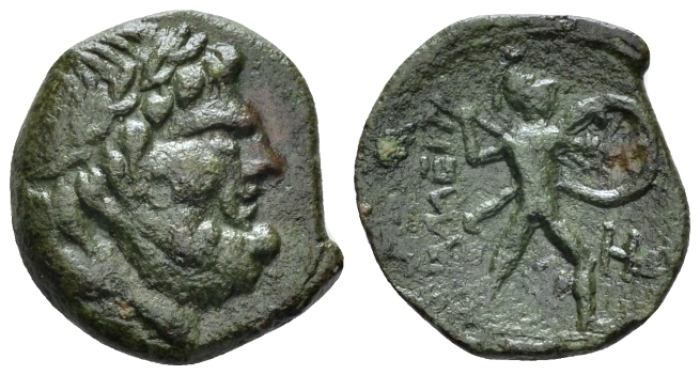 Sicily, Messana. Mamertini Pentonkion or Pentachalkon circa 200-35 (Starting Bid £ 30 )