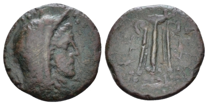 Island of Sicily, Melita Bronze circa 218-175 - From the R. Plant collection. (Starting Bid £ 40 )